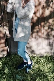 Jeans mit Weste
